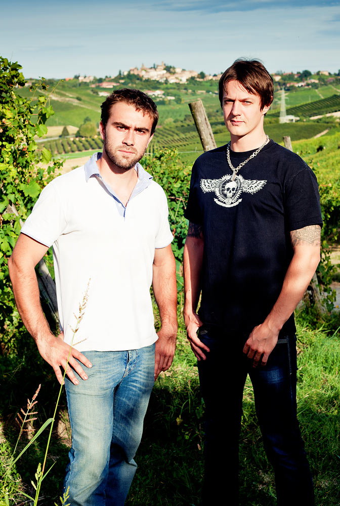 Sigurd Wongraven og Luca Roagna